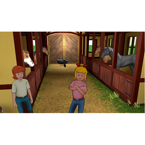 Bibi & Tina: At The Horse Farm - PS4 - Gameplay Shot 1