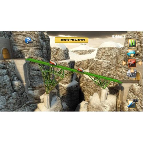 Bridge Constructor Compilation - PS4 - Gameplay Shot 1