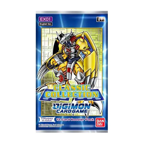 Digimon Card Game: Classic Collection (EX-01) Booster Pack