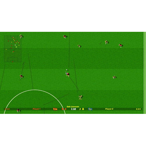 Dino Dini's Kick Off Revival - PS4 - Gameplay Shot 2