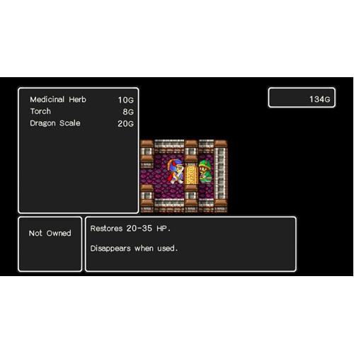 Dragon Quest 1, 2, 3 - Nintendo Switch - Gameplay Shot 1