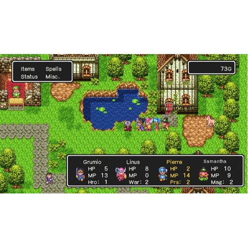Dragon Quest 1, 2, 3 - Nintendo Switch - Gameplay Shot 2
