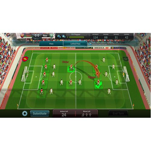 Football Tactics & Glory - PS4 - Gameplay Shot 1