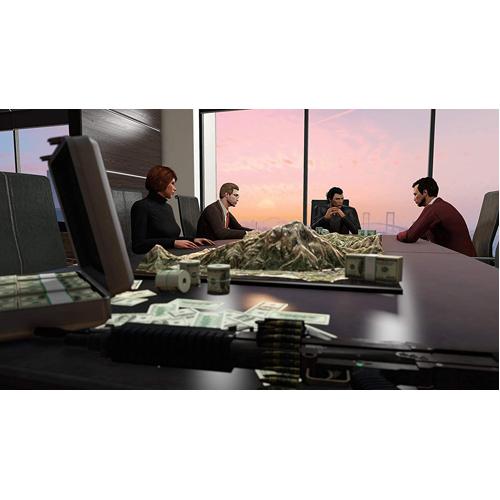 GTA V Grand Theft Auto 5 Premium Edition Criminal Enterprise Starter Pack - PS4 - Gameplay Shot 2