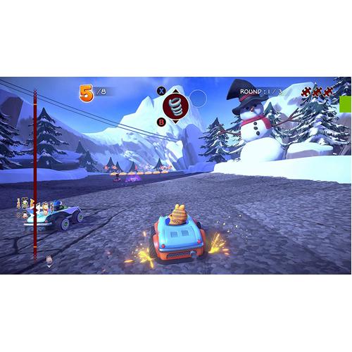 Garfield Kart Furious Racing - PS4 - Gameplay Shot 1