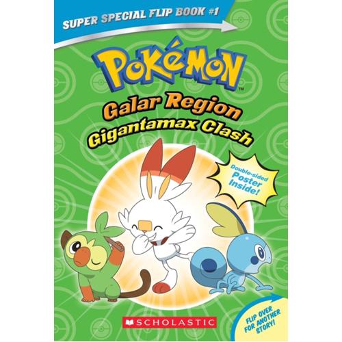 Gigantamax Clash / Battle for the Z-Ring (Pokemon Super Special Flip Book)