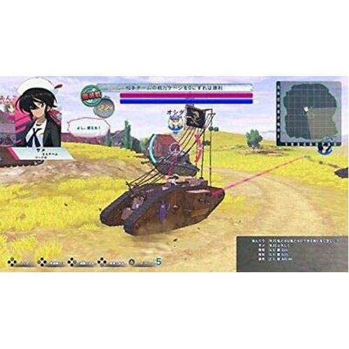 Girls und Panzer Dream Tank Match DX - Nintendo Switch - Gameplay Shot 2