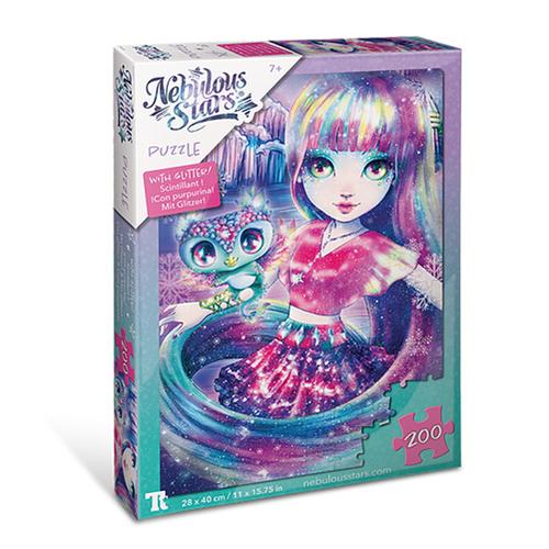 Glitter Puzzles 200 pcs - Isadora & Aura