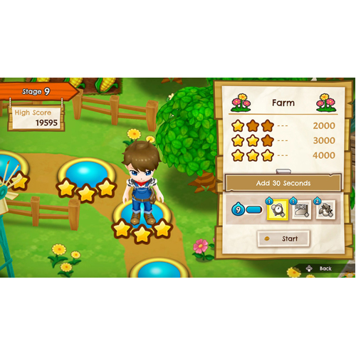 Harvest Moon Mad Dash - Nintendo Switch - Gameplay Shot 2