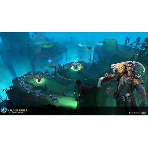 Hero Defense - PS4 - Gameplay Shot 2
