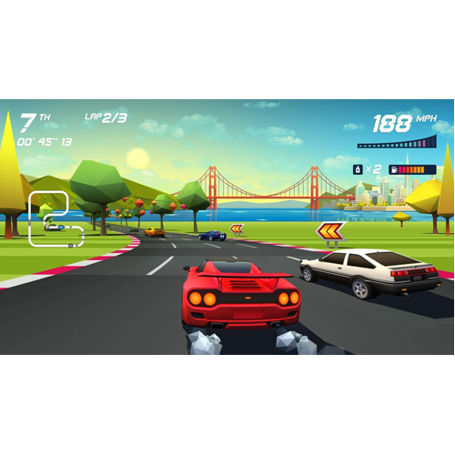 Horizon Chase Turbo - PS4 - Gameplay Shot 1