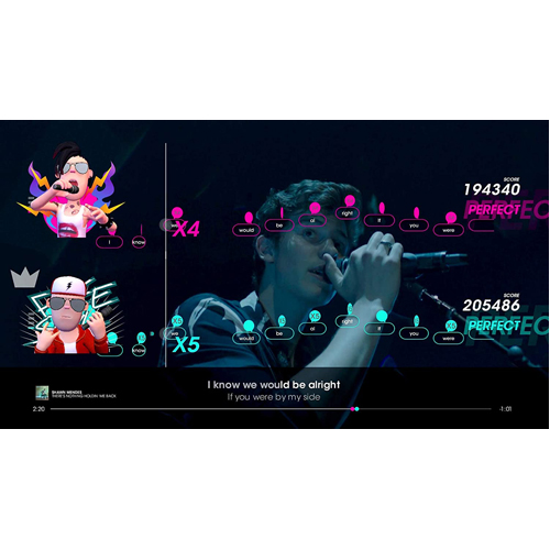 Lets Sing 2019 + 1 Microphone - Nintendo Switch - Gameplay Shot 2