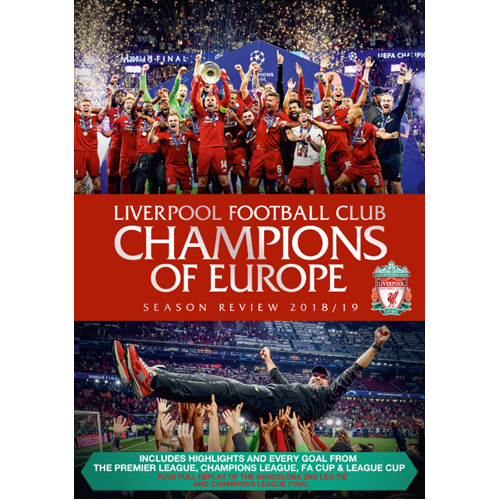 Liverpool Football Club End of Season Review 2018 to 2019 - DVD
