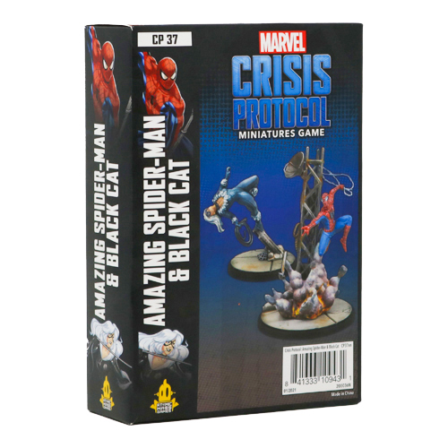 Marvel Crisis Protocol Miniatures Game: Amazing Spider-Man and Black Cat
