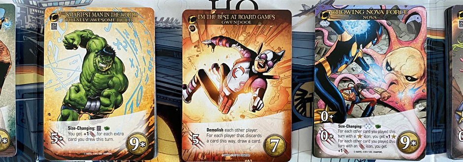 Marvel Legendary Champions Expansion Cards