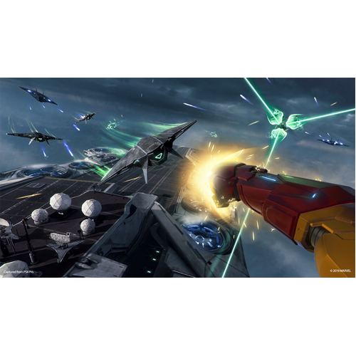 Marvel's Iron Man VR - Gameplay Shot 1