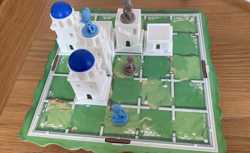 Mythology Themed Games Santorini