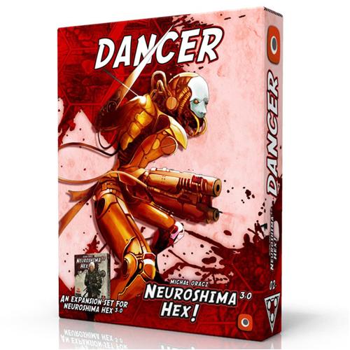 Neuroshima Hex 3.0 Board Game: Dancer Expansion
