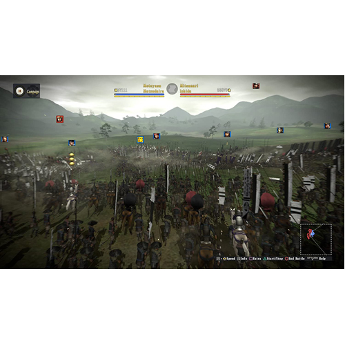 Nobunaga's Ambition Sphere of Influence - Ascension - PS4 - Gameplay Shot 1