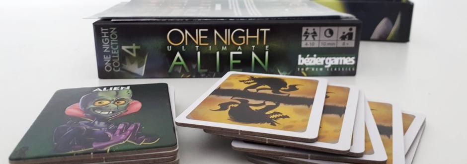 One Night Ultimate Alien box