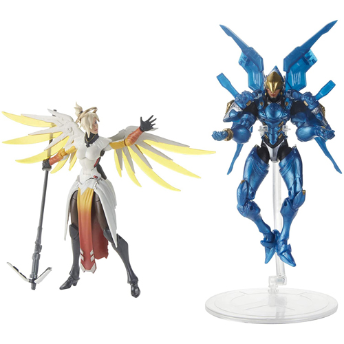 Overwatch Ultimates - Mercy and Pharah Dual Pack Action Figure 6in - Gameplay Shot 1