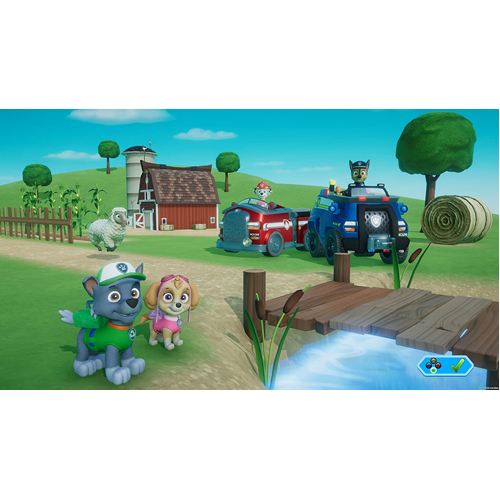 Paw Patrol On A Roll - PS4 - Gameplay Shot 1