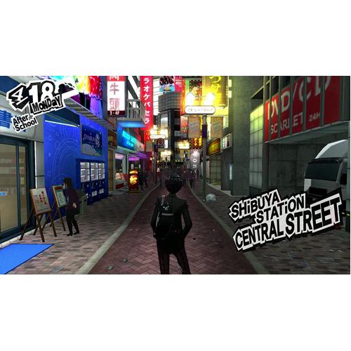 Persona 5 - PS4 - Gameplay Shot 1