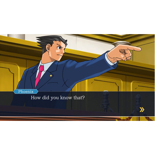 Phoenix Wright Ace Attorney - PS4 - Gameplay Shot 2