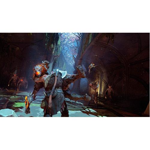 Playstation Hits: God of War - PS4 - Gameplay Shot 1