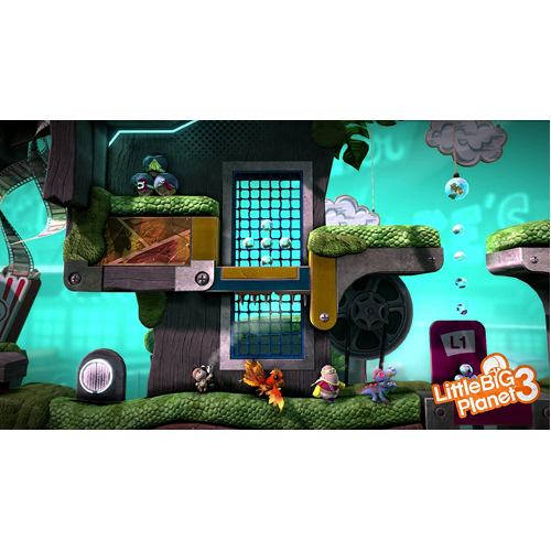 Playstation Hits: Little Big Planet 3 - PS4 - Gameplay Shot 1