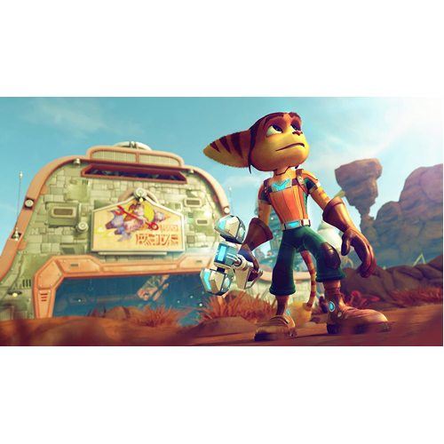 Playstation Hits: Ratch & Clank - PS4 - Gameplay Shot 1