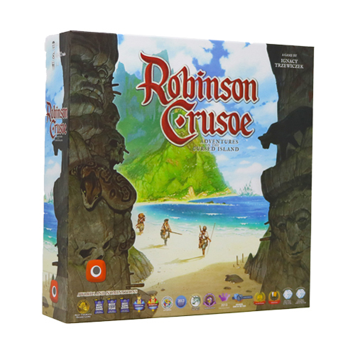 Robinson Crusoe Board Game: Adventures On The Cursed Island 4th Edition