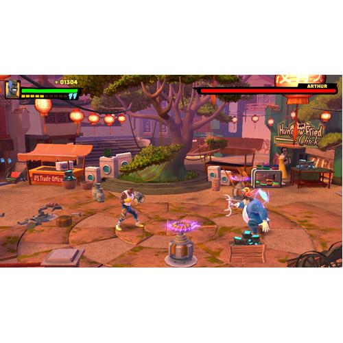 Shaq Fu: A Legend Reborn - Nintendo Switch - Gameplay Shot 1