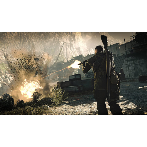 Sniper Elite 4 - PS4 - Gameplay Shot 1