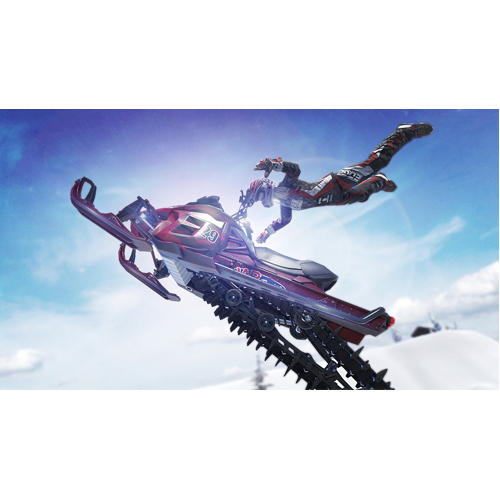 Snow Moto Racing Freedom - Nintendo Switch - Gameplay Shot 1