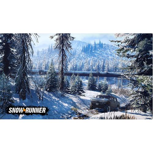 Snowrunner - PS4 - Gameplay Shot 1