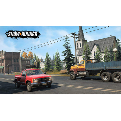 Snowrunner - PS4 - Gameplay Shot 2