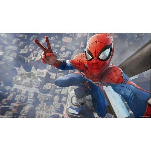 Spider Man - PS4 - Gameplay Shot 1