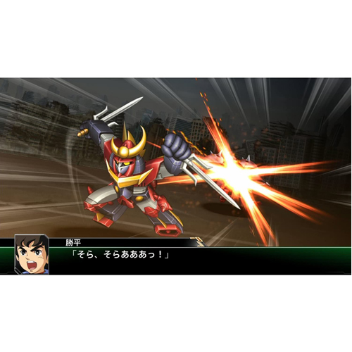 Super Robot Wars V - PS4 - Gameplay Shot 1