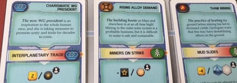 Terraforming Mars Turmoil Event Cards