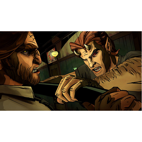 The Wolf Among Us - PS4 - Gameplay Shot 1