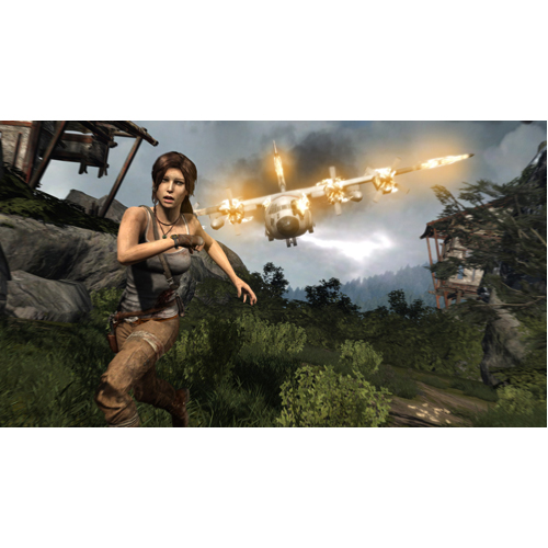 Tomb Raider Definitive HD - PS4 - Gameplay Shot 1