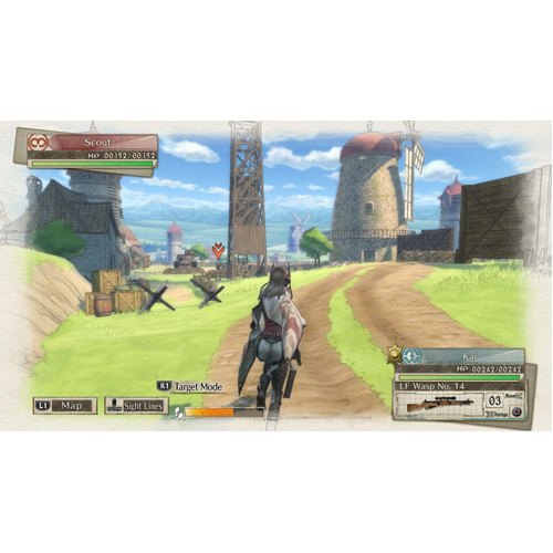 Valkyria Chronicles 4 Launch Edition - Nintendo Swtich - Gameplay Shot 2