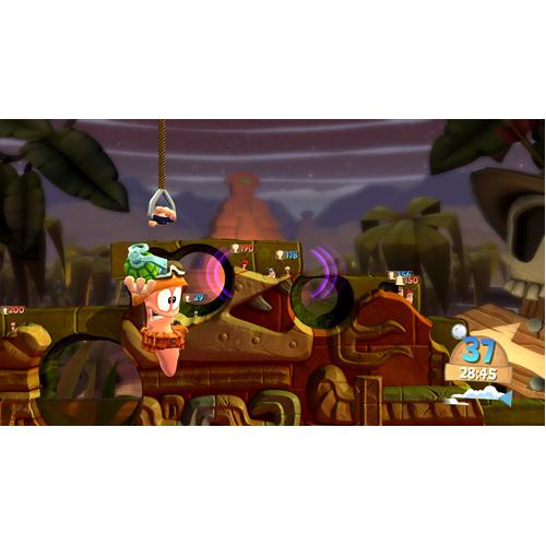 Worms Battlegrounds - Xbox One - Gameplay Shot 1