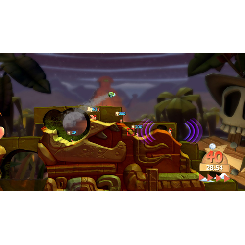 Worms Battlegrounds - Xbox One - Gameplay Shot 2
