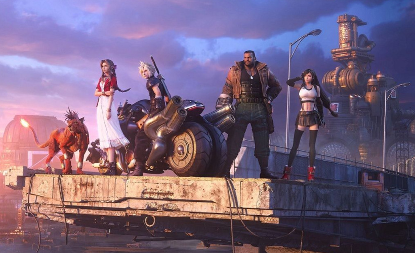 final fantasy 7 character line-up