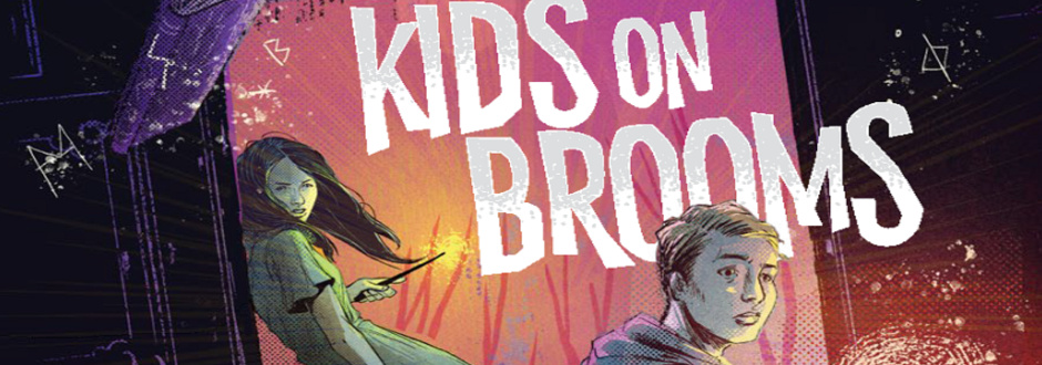 kids on brooms feature