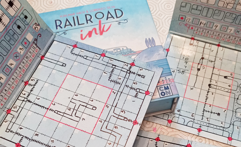railroad ink box