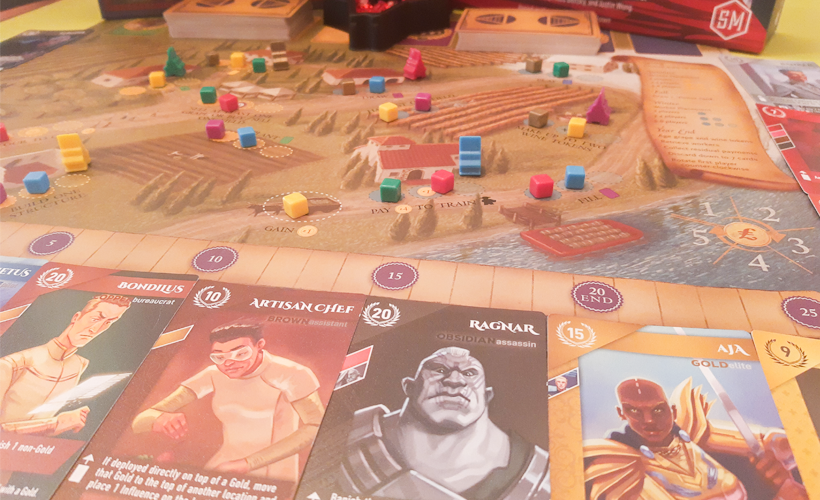 viticulture board and cards