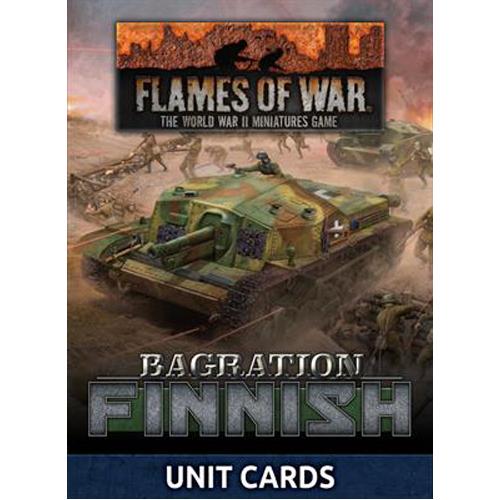Bagration: Finnish Unit Cards